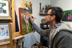 Studio Artist Matt Tomko