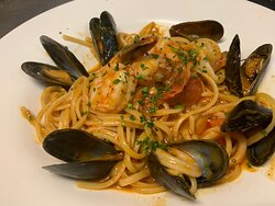 Pescatore - Chef selected seafood, tomato, garlic in a white wine sauce #garfieldrestaurants #bergencountyrestaurants #bergencountyfood #bergencountyfoodie #essexcountyrestaurants #essexcountyrestaurant #northjerseyrestaurants #northjerseyfood #northjerseyfoodie #njrestaurants #njrestaurant #njfood #njfoodie #njfoodies #njfoodblogger #njfoods #njfoodsnob #njfoodblog #njfoodbloggers #njfoodblog #njfoodporn #sexyfood #italianrestaurant #italianrestaurants #garfieldnj #garfieldnewjersey #elmwoodpar