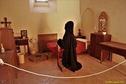 La ricostruzione della cella di un monaco