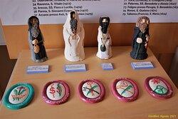 Un particolare della mostra sul monachesimo