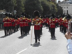 The Guards band