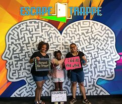 Having Fun at Escape Trappe!