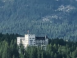 Waldhaus Hotel Sils Maria Engadina Svizzera