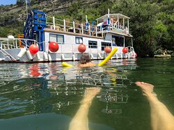 Lake Austin no wake zone👍🏼🌝