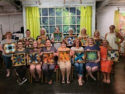 DBI paint-n-sip party with the Jumblebox and OPS