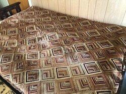 the futon on the kitchen