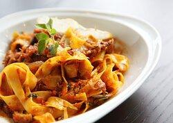 Capri Express Chalong Italian Restaurant & Coffee Shop Fettuccine Bolognese