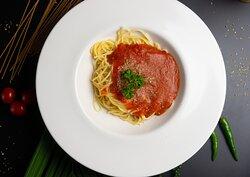 Capri Express Chalong Italian Restaurant & Coffee Shop Spaghetti Tomato Sauce
