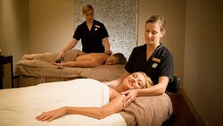 Couples massage at Ubika Spa