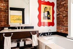 Queen Suite The Orient Bathroom