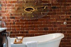 King Private Balcony Suite The Dandelion Bathroom