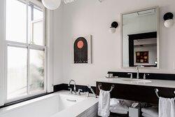 King Balcony Suite The Convex Bathroom