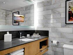 Luxury Suite Washroom
