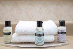 Executive Queen Suite Bath Amenities