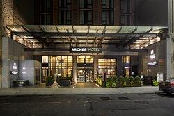 Archer Hotel New York Entry