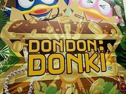 DON DON DONKI sign