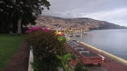 The garden with view over Funchal