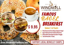 Famous Bagel Special