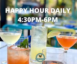 Keep calm because it's happy hour. $6 food, beer, wine and cocktails.  www.lesudchicago.com  #happyhourtime #happyhourdrinks #happyhourspecials #happyhour #lesudroscoevillage