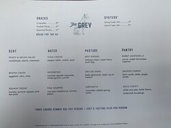 I love this menu.