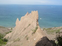 Another part of the bluffs.