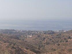 Vistas del mar Mediterráneo.