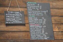 Great menu.