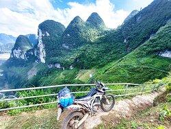 Dong Van Ha Giang motorbike