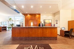 Reception Novum Apartment Hotel am Ratsholz