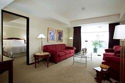 Executive Suite Living Room Swissotel Lima