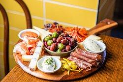 Tabla de Ibéricos - Chef's selection of cured meats  & Spanish cheeses