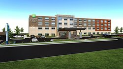 Welcome to the new Holiday Inn Express & Suites Moody-Leeds