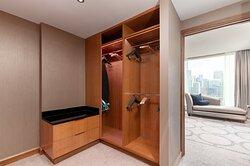 Presidential Penthouse walk-in closet