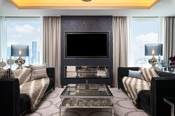 Presidential Penthouse living room