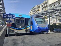 Train des Pignes au départ de Nice