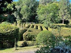 Le labyrinthe vu de haut