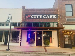 Sally's City Cafe store front