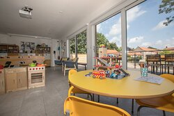 View from the playroom