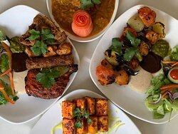 Supern grills, from chicken shahlik to mix grill, cooked in the tandoor.