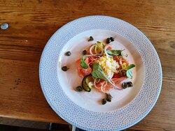 Severn & Wye Smoked Salmon starter - exquisite