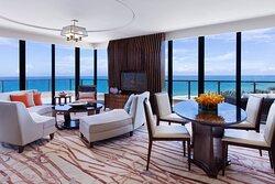 Grand Panorama Ocean View Suite - Living Room