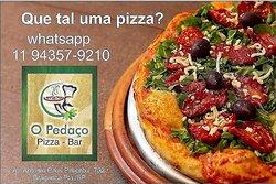 A melhor pizza da região!