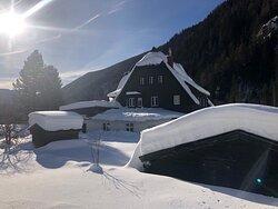 De Ankogel Lofts in de winter