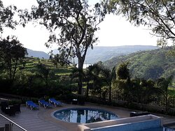 Valley and pool view