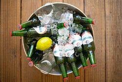 Libanesisches Bier Almaza