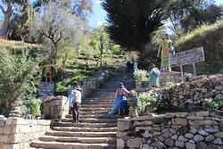 Les marches des incas sur isla Del Sol