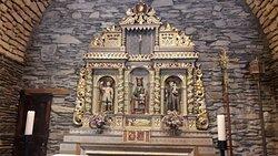 Santuario de Canòlich. Retablo