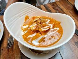 Mild chicken curry.