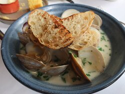 The Clams is an excellent dish.