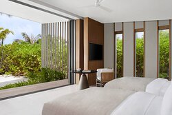 Two-Bedroom Beach Pool Villa - Twin/Twin Bedroom